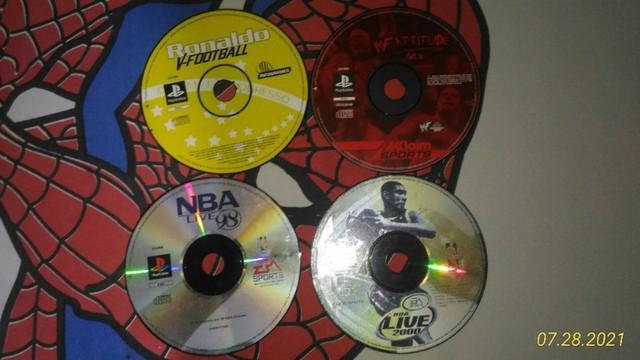 Jogos originais para playstation 1 e 2