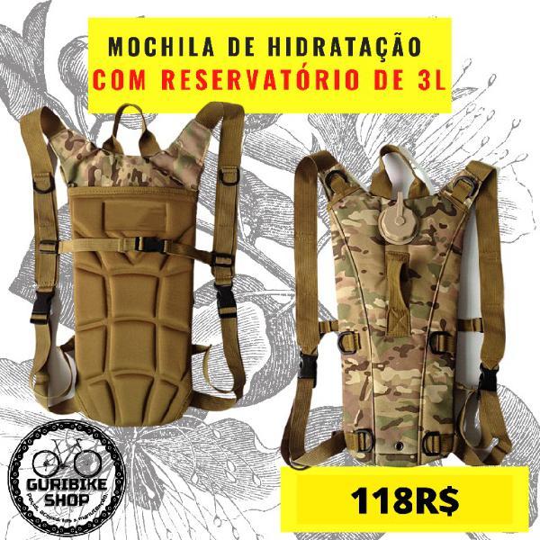 Mochila de hidratação camelback mochila tatica 3l