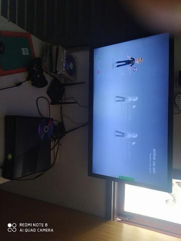 Xbox 360 desbloqueado vários jogos 2 controle