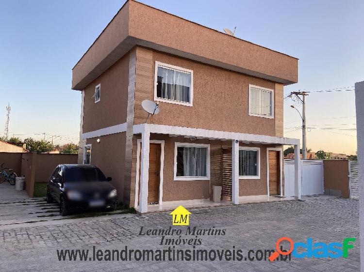 Ótima casa com 2 quartos próximo a rodoviária e praia de itaipuaçu