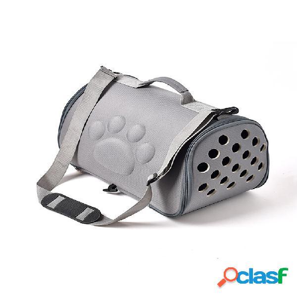 Pet supplies space cachorro bolsa eva pet out bolsa pet diagonal portátil respirável bolsa
