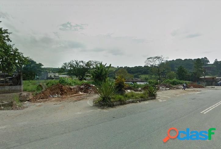 Jd. leblon -terreno de 1.800 m2 na estrada alvarenga, próximo ao samu