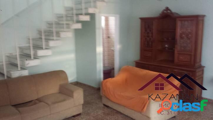 Casa comercial - 3 dormitórios - edicula - vila mathias - santos