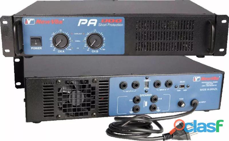 Amplificador new vox pa 900 440 whatts rms