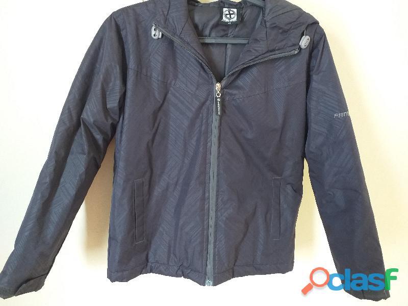 jaqueta cinza escuro promocao