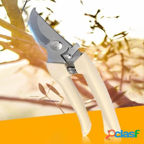 Tesoura de poda de jardinagem antiderrapante tesoura de poda de árvores frutíferas tesoura de poda de bonsai para jardim