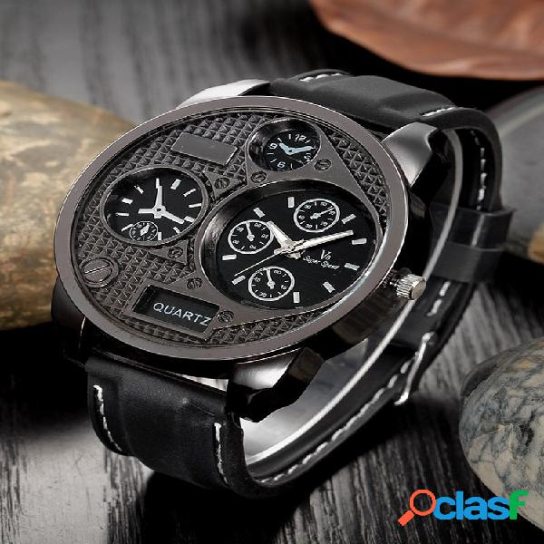 Relógios de pulso esportivos ao ar livre silicone banda relógios masculinos de quartzo relógio relógios militares mascul