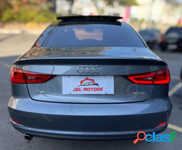 Audi a3 sed. ambition 2.0 tsfi 220cv s-tronic cinza 2016 2.0 gasolina