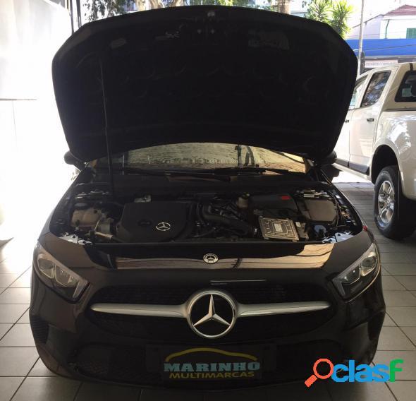 Mercedes-benz a 200 1.3 turbo advance unica dona top de linha com 2.500km preto 2020 1.3 gasolina