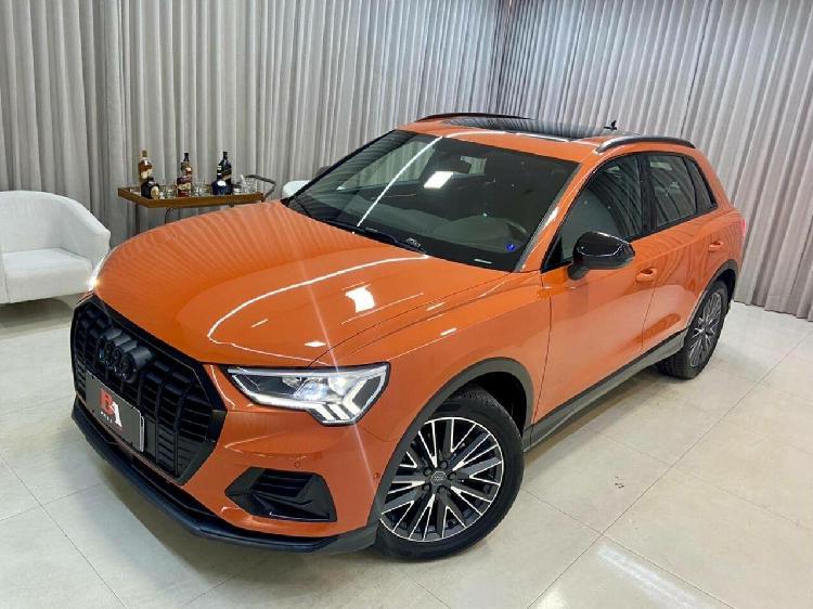 Audi q3 1.4 35 tfsi black laranja 2019/2020 - goiânia