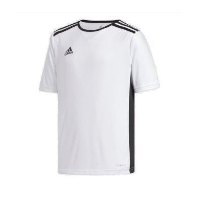 Camisa infantil adidas branco menino cf1044