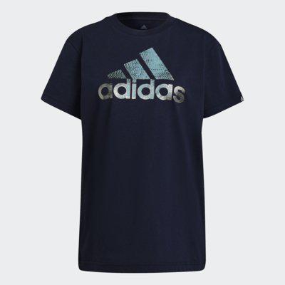 Camiseta adidas estampada foil motion feminina