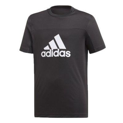 Camiseta adidas infantil logo preta menino dv2921 preto