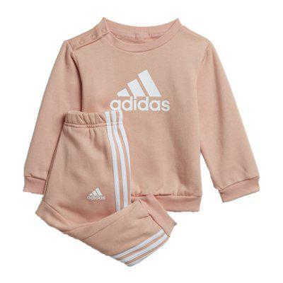 Conjunto infantil adidas baby jogger rosa menina h28836