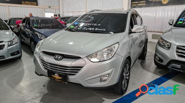 Hyundai ix35 gls 2.0 16v 2wd flex aut. prata 2015 2.0 flex