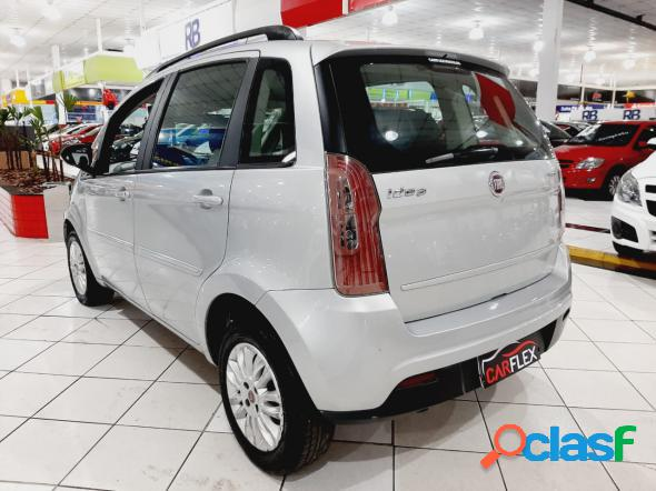 Fiat idea attractive 1.4 fire flex 8v 5p prata 2011 1.4 flex