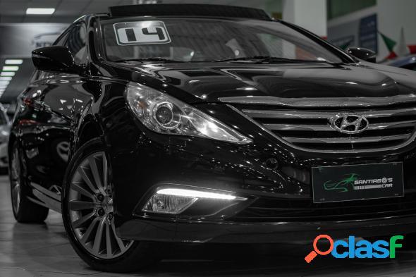 Hyundai sonata 2.4 16v 182cv 4p aut. preto 2014 2.4 gasolina