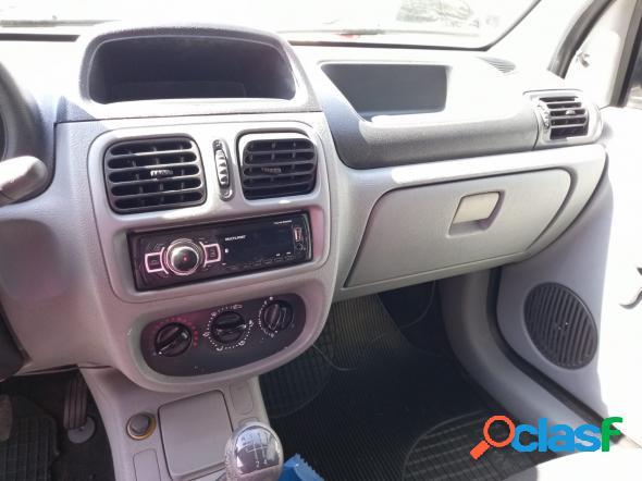 Renault clio hi-flex 1.0 16v 5p preto 2012 1.0 gasolina