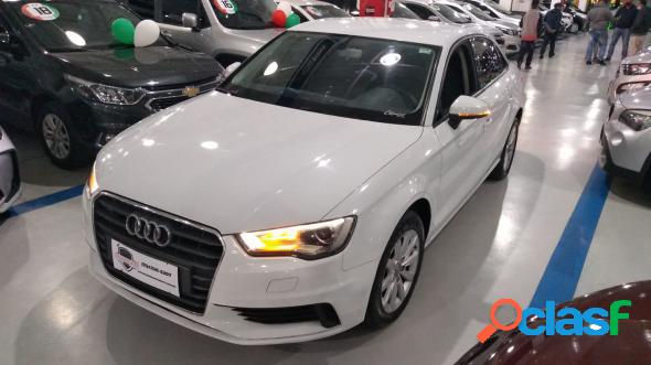 Audi a3 sedan 1.4 tfsi flex tiptronic 4p branco 2016 1.4 flex