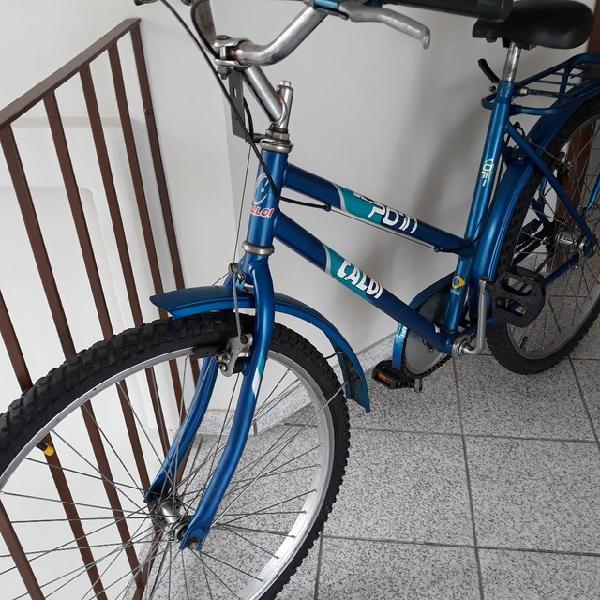 Bicicleta caloi poti aro 26 freio contra pedal