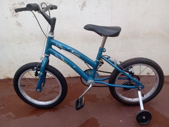 Bike seninha aro 16 infantil - reliquia