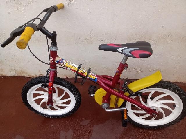 Bike spiderman aro 16 infantil