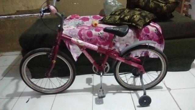 Bike feminina aro 20