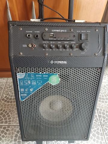 Caixa amplificada / amplificador multiuso mondial mod