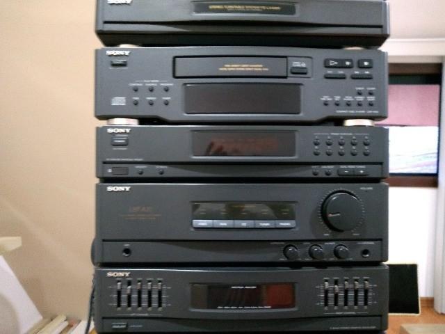 Equipamento de som sony lbt-a20