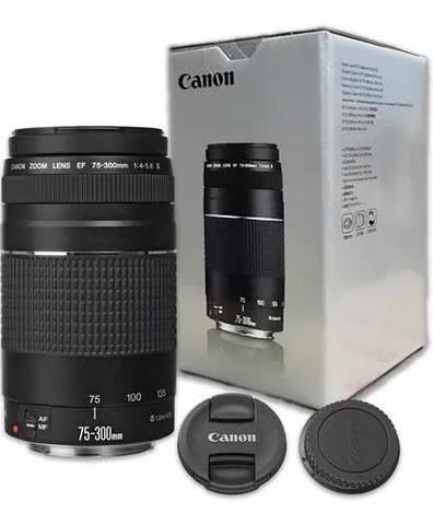 Lente canon 75-300mm f/4-5.6