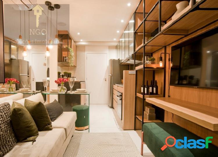 Apartamento com 1 quartos, 27m², à venda - belenzinho - são paulo