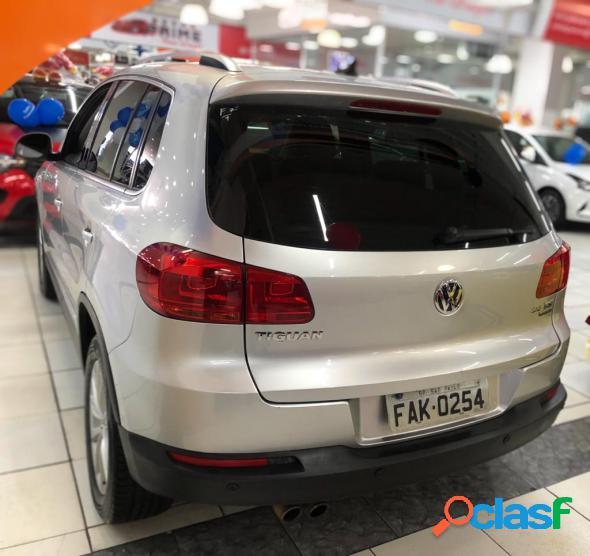 Volkswagen tiguan 2.0 tsi 16v 200cv tiptronic 5p prata 2012 2.0 gasolina