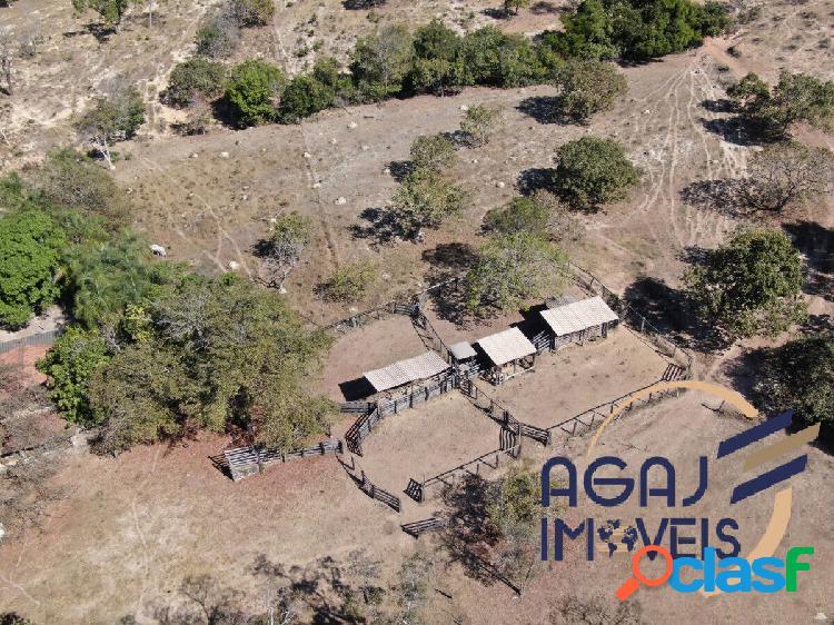 Fazenda em niquelândia-go | 168 alqueires | dupla aptidão