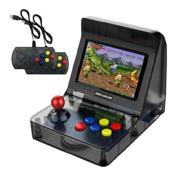 Console retro arcade portátil com 3000 jogos mini fliperama