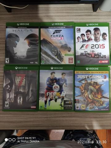 Xbox one 6 jogos