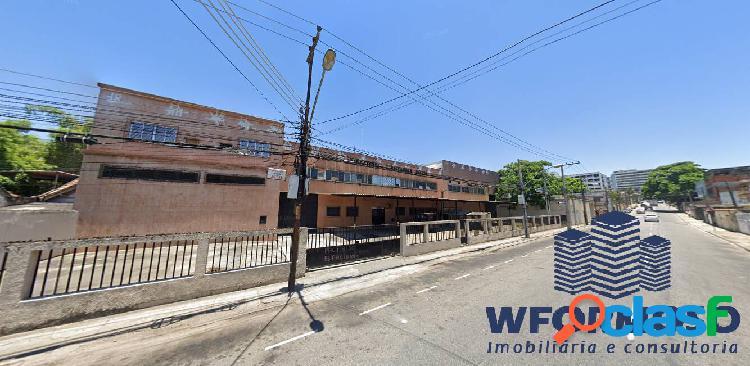 Galpão frente de rua à venda rua manoel vitorino encantado - rj