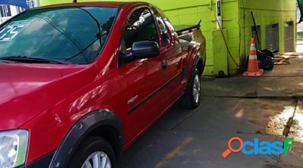 Chevrolet montana 1.8 1.8 conquest flexpower 8v vermelho 2005 1.8 flex