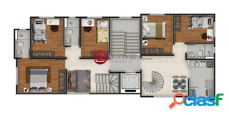 cobertura Duplex 3 qtos, sendo 1suíte - Dona Clara 2