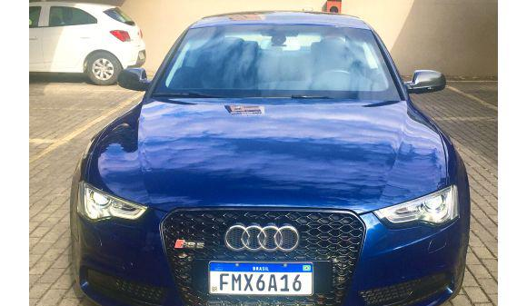 Audi a5 2.0 coupe 2.0 tfsi quattro stronic 13/13 azul