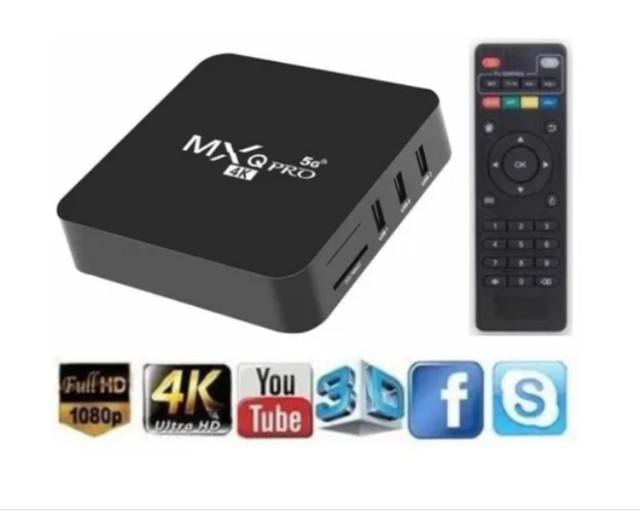 Conversor smart tv box 8gb de ram 128gb pro 4k envio rapido