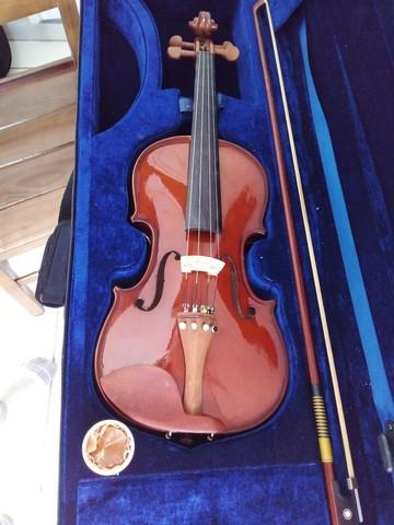 Violino eagle ve 431 3/4 seminovo com case