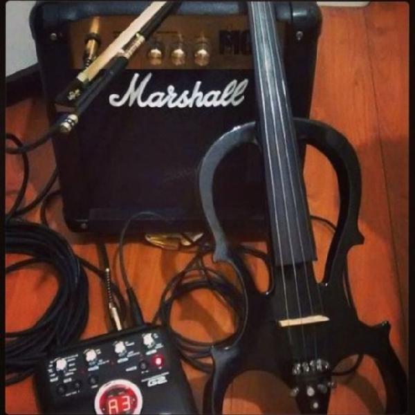 Violino elétrico profissional cecílio
