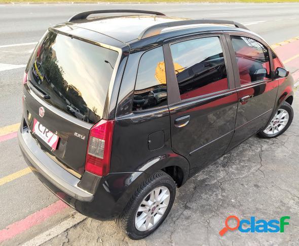Fiat idea elx 1.4 mpi fire flex 8v 5p preto 2010 1.4 flex
