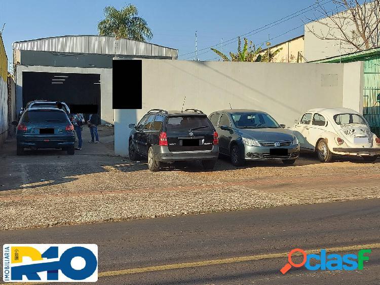 Barracão a venda na av comercial terreno 528 m², construção 220 m².