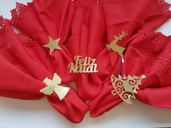 Porta guardanapo natal