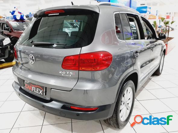 Volkswagen tiguan 2.0 tsi 16v 200cv tiptronic 5p cinza 2012 2.0 gasolina
