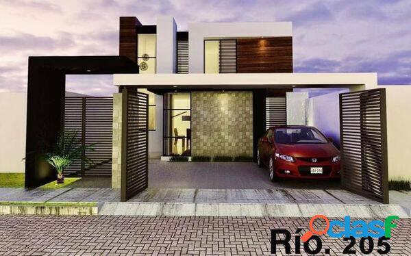 Hermosa casa en preventa (casa rio) residencial romanza colima