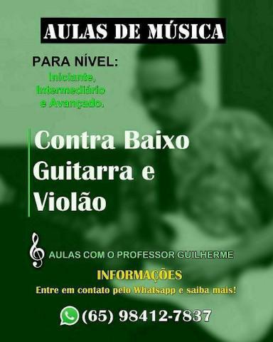 Aulas de música (promoção)