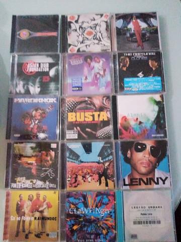 Vários títulos de cds importados e nacionais em ótimo