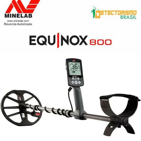Detector minelab equinox 800 com garantia e nota lacrado